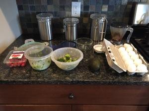 Breakfast Ingredients